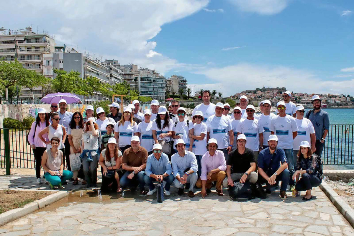 Rapsani beach cleanup